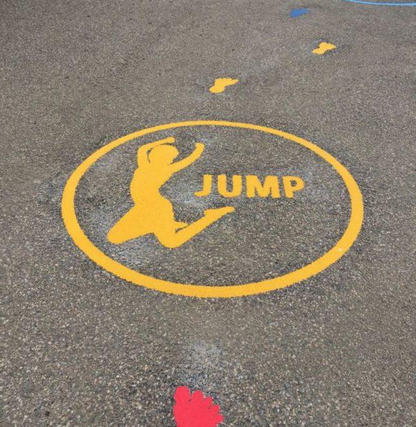 TMF020-3 Fitness Activity Circle Jump
