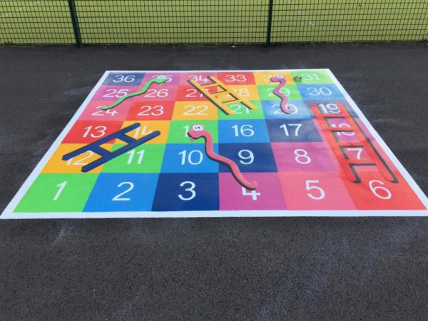 TMG003-36LF Snakes and Ladders 1-36 Large Full Solid