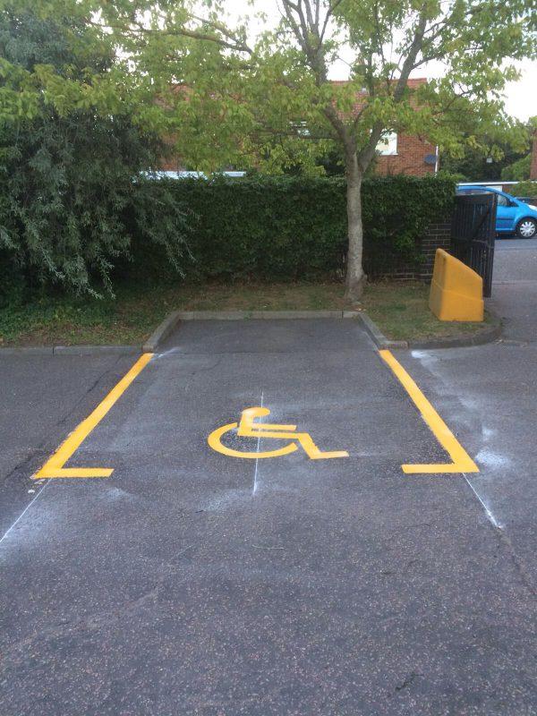 TRDS-Y Disabled Parking