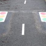 traffic light road marking thermoplastic