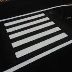 zebra crossing preformed thermoplastic playground marking