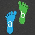 TME015-AF Alphabet Footprints