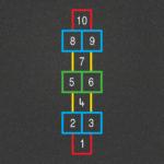 TMG001-O Hopscotch Outline