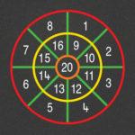TMG002-N Number Target