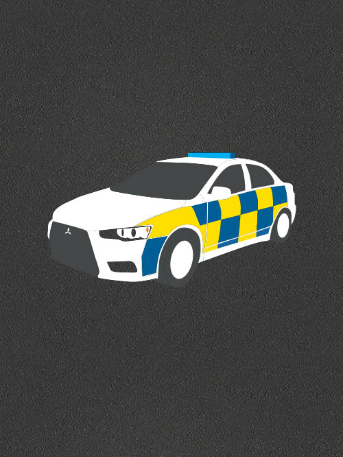 TMR004 Police Car