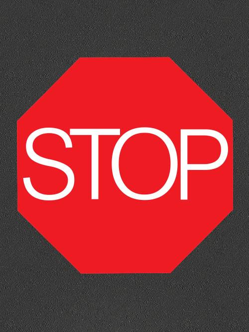 TMR006 Stop Sign