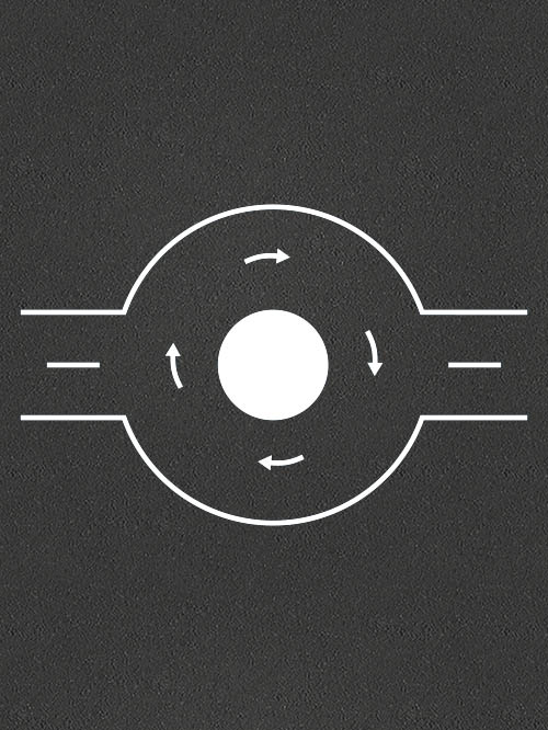 TMR012-3 Roundabout 3m