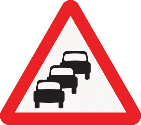 traffic-queues-likely-warning-sign-product-0