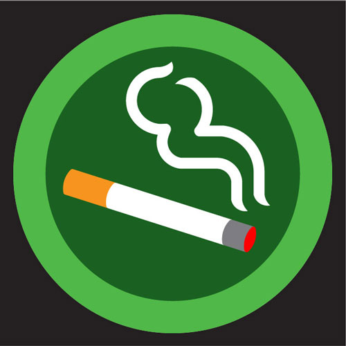 Smoking-Sign-Green