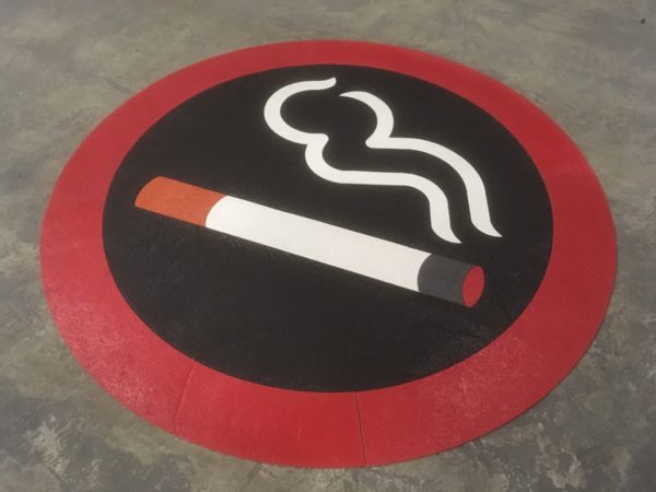 Smoking-symbol-floor-marking