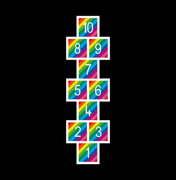 TMG001-RA Rainbow Hopscotch WEB