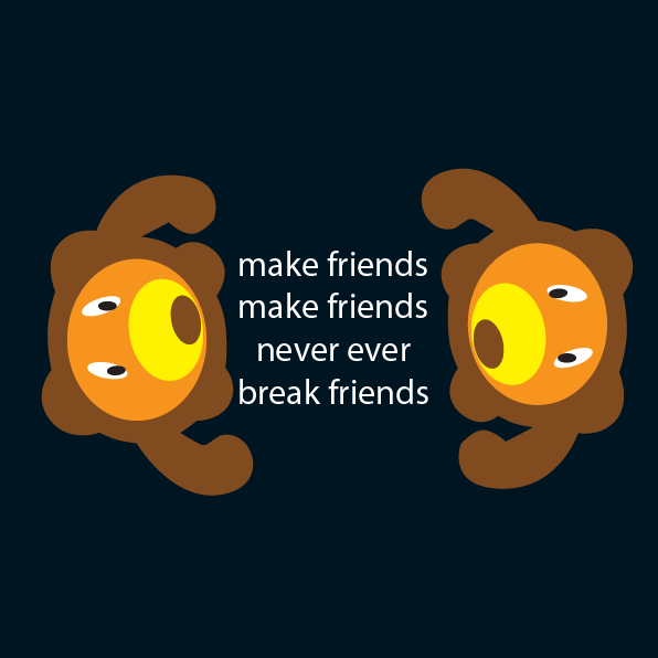 TMA015 Let's Bear Friends