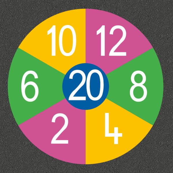 TMG002-MN Mini Number Target
