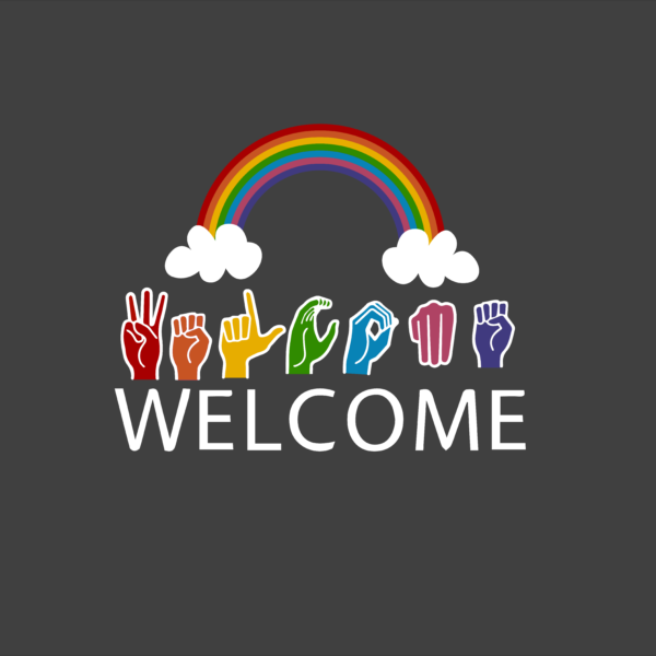 welcome sign language